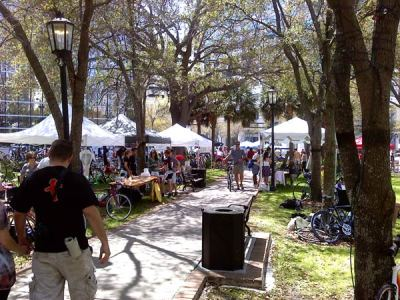 Downtown Tampa Eco Fest 2010