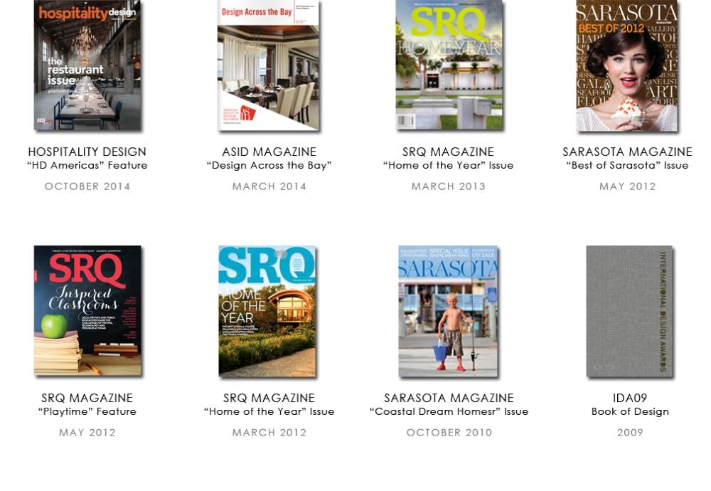 Sarasota Interior Designers Press Features