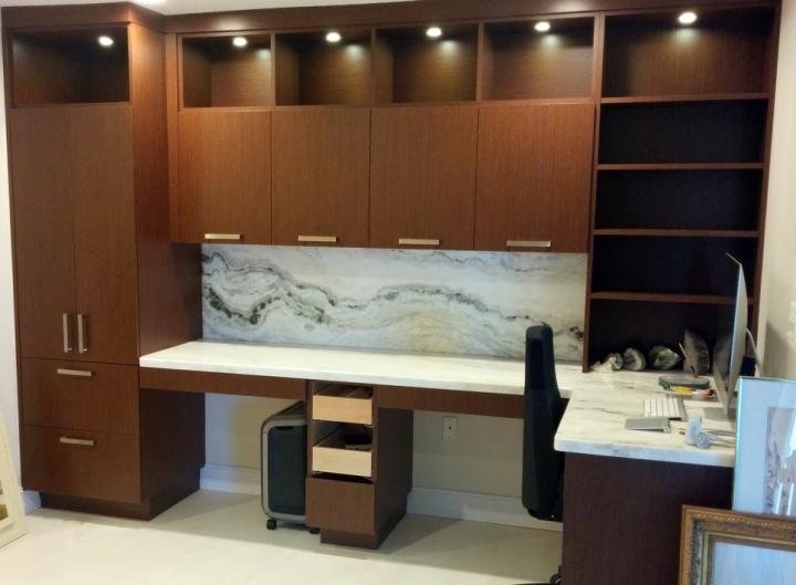 Sarasota interior designer contemporary condo custom cabinetry